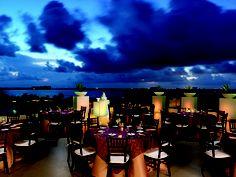destination wedding reception setup Leblanc Resort and Spa, Cancun