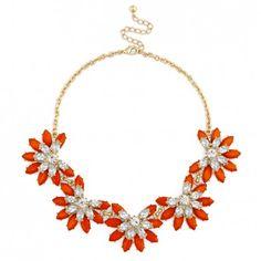Short Floral Necklace