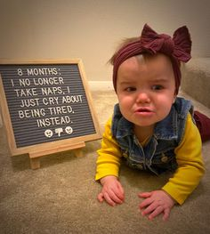 8 months baby photography 8 Month Milestones Baby, 8 Month Old Baby, Fall Baby Pictures, Baby Boy Photos, Monthly Baby Photos, Monthly Pictures, Baby Captions, Baby Messages, Baby Letters