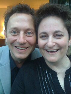 Jo Garfein and Michael Emerson in 2010. Jo reposted this picture in September 2016 because of upcoming LOST concerts in Los Angeles and the huge wave of nostalgia setting in.