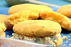 Galletas de queso rellenas | Sabores en Linea