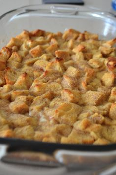 "Perfect bread pudding recipe for my ""simple"" bread pudding lover!!"