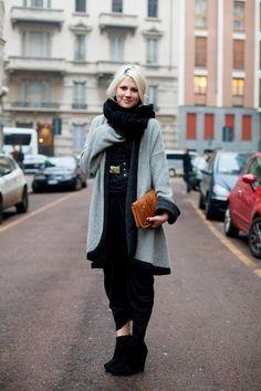Fabulous, fabulous!   On the Street…..Black & White, Milano « The Sartorialist
