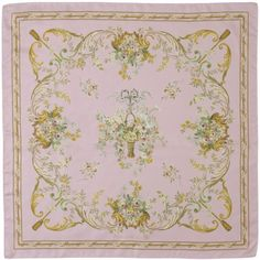 Tapestry - a wonderful pink English Eccentrics scarf