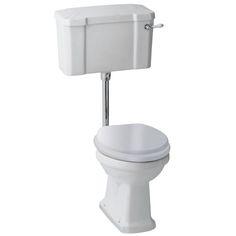 Savoy low level WC exc seat - Bathstore.com