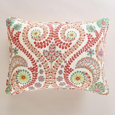 One of my favorite discoveries at WorldMarket.com: Treetop Pillow Shams, Set of 2