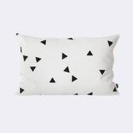 Black Mini Triangle Cushion Ferm Livig