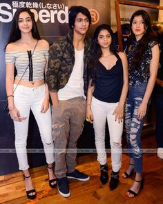 Suhana Khan, Shanaya Kapoor, Ananya Pandey and Ahaan Panday were present at the Lakme Fashion Week 2017 in Mumbai. We have pictures of the star kids. Bollywood Actress Hot Photos, Bollywood Girls, Bollywood Stars, Bollywood Celebrities, Bollywood Fashion, Engagement Dress For Groom, Lakme Fashion Week 2017, Trendy Outfits, Fashion Outfits