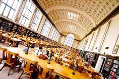North Reading Room at Doe Library at the University of California, Berkeley (Berkeley, California)