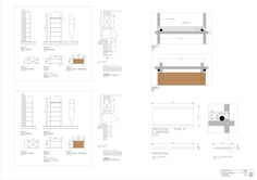 Gallery of Ap Cobogó / Alan Chu - 40 Apartment Renovation, Detailed Drawings, Technical Drawing, Building Design, Store Design, Architecture Details, Floor Plans, Interior Design, Deco