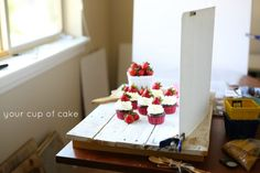 Chocolate Strawberry Cheesecake Cupcakes - Your Cup of Cake