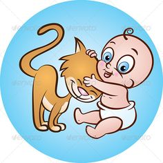 Baby with Kitty  #GraphicRiver         Vector Illustration of Cute sitting Baby holding Kitten in Arms     Created: 4June13 GraphicsFilesIncluded: JPGImage #VectorEPS #AIIllustrator Layered: Yes MinimumAdobeCSVersion: CS Tags: BabyBoys #affectionate #animal #babygirls #carrying #cat #characters #child #childhood #cute #embracing #female #friendship #fun #holding #kitten #littleboys #littlegirls #love #male #newborn #pets #playful #small #smiling #toddler #togetherness #younganimal