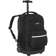 Sunset Multi Pocket Rolling Backpack >>> Click on the image for additional details.