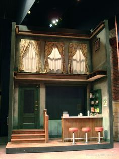 Director: Joe DeerSet Designer: Don DavidLighting Designer: Matthew BenjaminCostume Designer: Matt CarneyPhotos By: Don DavidProgress Photos By: Tien Cao Stage Set Design, Set Design Theatre, Bühnen Design, Design Model, At Home Movie Theater, Little Shop Of Horrors, West Side Story, Story Setting, Scenic Design