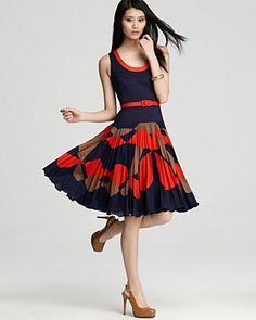 【Milly新作セール!】大人気!Chrystine Sunburst Dress/US0,2