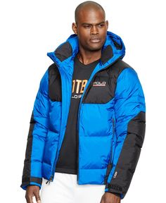 Polo Ralph Lauren Sideline Down-Feathers Jacket