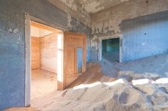 Photographer Romain Veillon Documents A Town Sinking Into Sand | HUH.