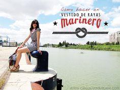 Cómo hacer un vestido de rayas marinero #DIY #Fashion