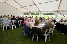 Hospitality at the Arundel Festival of Cricket, June 2014.