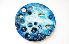air dry clay art object, by Ines Rocio
