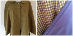 Wool blend outer with polyester lining Size L