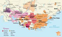 Appellations of Côtes de Provence
