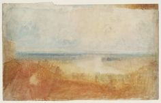 Joseph Mallord William Turner, 'Study for Drawing of Richmond Terrace' c.1820-30