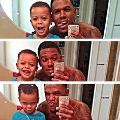 Daniel Gibson and son's cutest Instagram photos