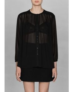 Other Stories Polka dot blouse