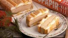 Kardinális szelet Hungarian Cake, Sweet Cookies, Apple Pie, Camembert Cheese, Food And Drink, Xmas, Bread, Dishes, Cakes