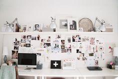 eclectic home office Home in Copenhagen, Denmark