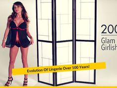 Evolution Of Lingerie Over 100 Years!
