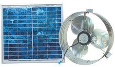 Ventamatic VX2515SOLUPS Solar Gable Attic Ventilator with 12.6-Watt 18-Volt DC Motor and 12.6-Watt Panel >>> Check out this great product.