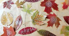 Making leaf art is one of our favorite Autumn activities and we especially love to draw and doodle on pressed Autumn leaves. Leaf art with kids or without.
