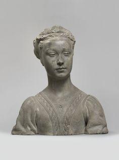 """Bildnis einer jungen Dame """"Prinzessin von Urbino"""" (Urbino, ca. 1475, Bode Museum, Berlin)."""