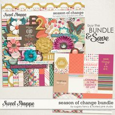 Season of Change Bundle by Sugary Fancy & Tickled Pink Studio