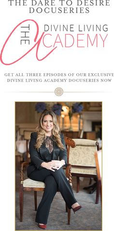 Did you miss this?! My first EVER Behind the Scenes Docuseries of a live event in Paris with the Divine Living Academy. Not only are these videos FILLED with great behind the scenes looks into what really goes on at our live events, but they also include such amazing coaching sessions and trainings....if you havent seen it yet...get in on the action now! http://www.divineliving.com/magazine/dare-desire-docuseries-6/