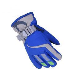Snowboard Ski Driving Gloves Disciplined Unisex Full Fingers Winter Fleece Gloves Touch Screen Waterproof Wrist Driving