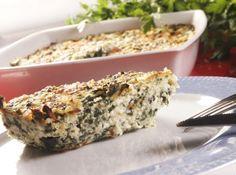 Receita de Torta de espinafre - TORTA BOA!!! Muito facil de fazer e bem leve! Boa mesmo! MARAVILHOSA!!! Saudável, nutritiva e muito fácil de preparar, vale a pena experimentar!...