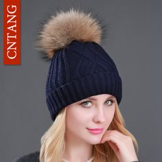 $8.17 (Buy here: https://alitems.com/g/1e8d114494ebda23ff8b16525dc3e8/?i=5&ulp=https%3A%2F%2Fwww.aliexpress.com%2Fitem%2FWinter-Ladies-Knitted-Acrylic-Plus-Velvet-Warm-Hats-Fashion-Pompon-Fur-Caps-Beanies-Hat-For-Women%2F32729689877.html ) Winter Ladies Knitted Acrylic Plus Velvet Warm Hats Fashion Pompon Fur Caps Beanies Hat For Women Real Raccoon Fur Cap Skullies for just $8.17