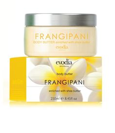 Frangipani Body Butter Size: 210g  RRP: AUD$19.95  Product Code: 1252203  available from www.evodia.com.au Body Butter, Shea Butter, Aud, Coding, Whipped Body Butter, Programming