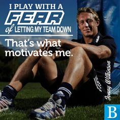 What motivates a great team player? Ask Jonny Wilkinson.