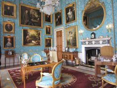 The turquoise drawing room Castle Howard