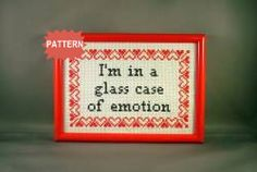 PDF/JPEG I'm in a glass case of emotion by katiekutthroat on Etsy