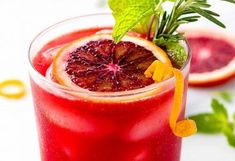 7 Dry January Mocktails to Make So You're Not Stuck Drinking Club Sodas All Month