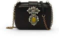 Black Embellished Crossbody Bag by Club Monaco. Buy for $399 from Club Monaco