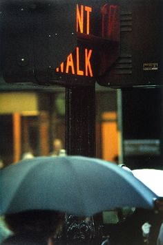 Canopy, 1958 ©Saul Leiter, Courtesy Howard Greenberg Gallery, New York
