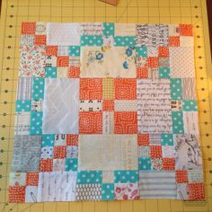"APQ quilt along ""Tone it Down"""