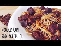 Noodles con soja agridulce / Platos principales / Pastas / HazteVeg.com