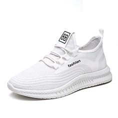 Men's Trainers Athletic Shoes Casual Daily Walking Shoes Mesh Black / White White / Green Black Spring & Summer Fall & Winter 2021 - US $36.74 Sneakers Outfit Men, Casual Sneakers, Casual Shoes, Walking Shoes, Running Shoes, Athletic Fashion, Athletic Shoes, Comfortable Mens Shoes, Mens Shoes Online